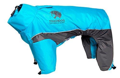 Touchdog Quantum-Ice Full-Bodied Adjustable and 3M Reflective Dog Jacket w/ Blackshark Technology