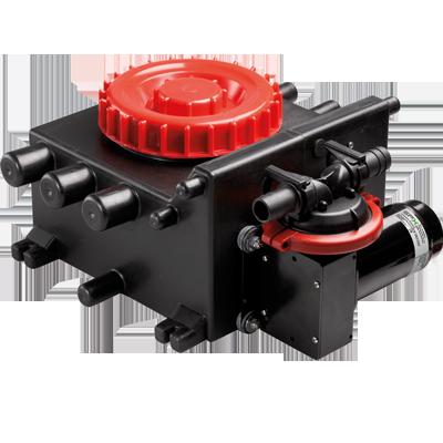 Viking Power 16 Waste Pump, 12V, w/ Tank