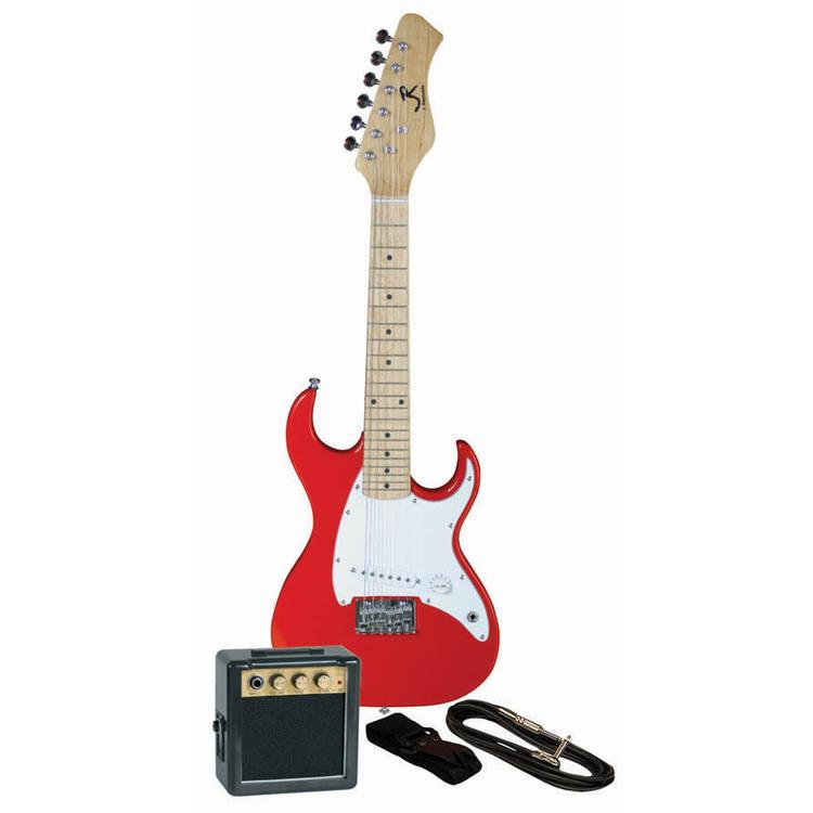 Mini Elect Gtr Pkg- Red