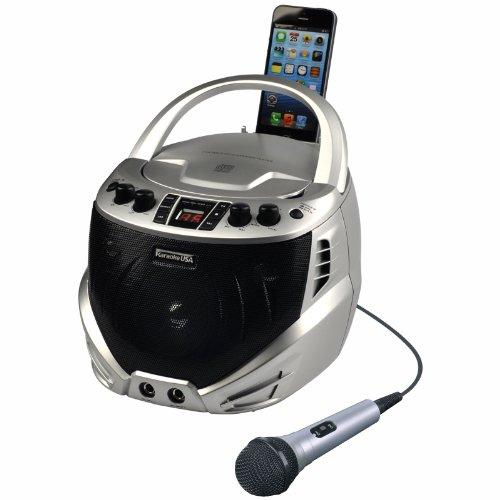 KARAOKE USA GQ262 Portable CD Karaoke Player