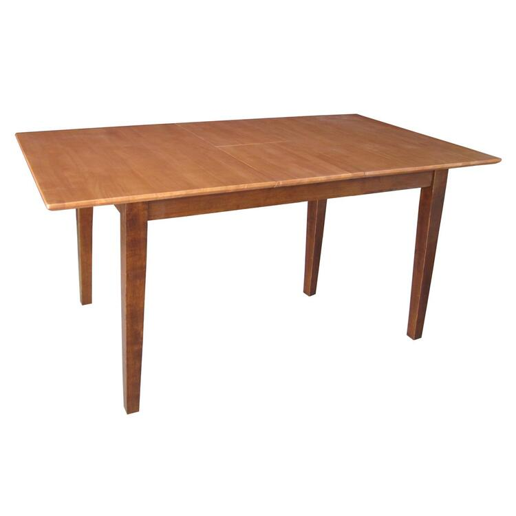 Table with Butterfly Extension