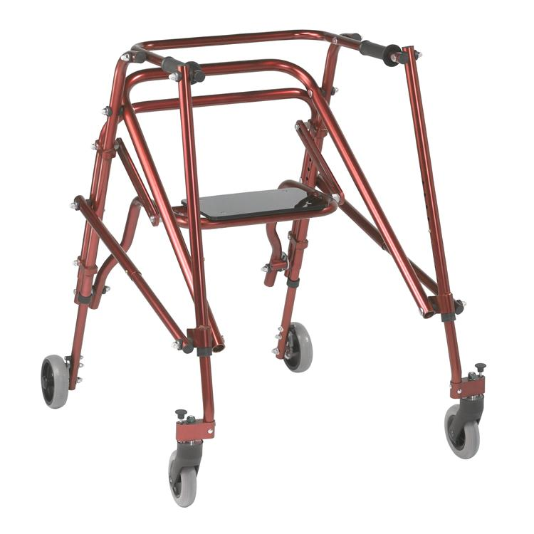 Drive Medical Nimbo 2G Lightweight Posterior Walker with Seat