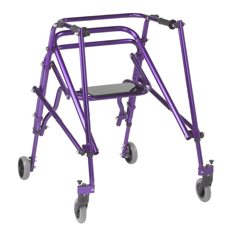 Drive Medical Nimbo 2G Lightweight Posterior Walker with Seat [Item # ka4200s-2gwp]
