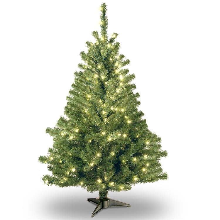 National Tree Kincaid Spruce Tree with Clear Lights [Item # KCDR-40LO-S]