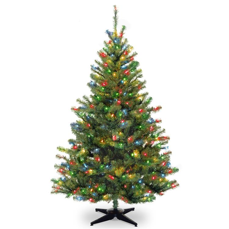 National Tree Kincaid Spruce Tree with Clear Lights - [KCDR-40LO-S]