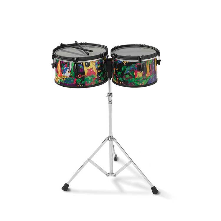Remo Kids Percussion Timbales 10
