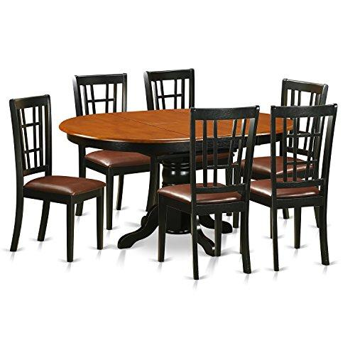 East West Furniture 5-Pc Dining Table & Chairs Set
