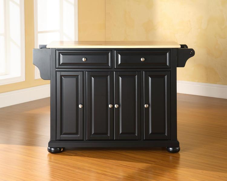 Crosley Alexandria Granite Top Kitchen Island [Item # KF30001ABK]