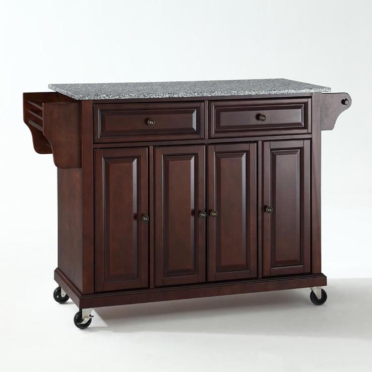 Crosley Solid Granite Top Kitchen Cart/Island [Item # KF30003EMA]