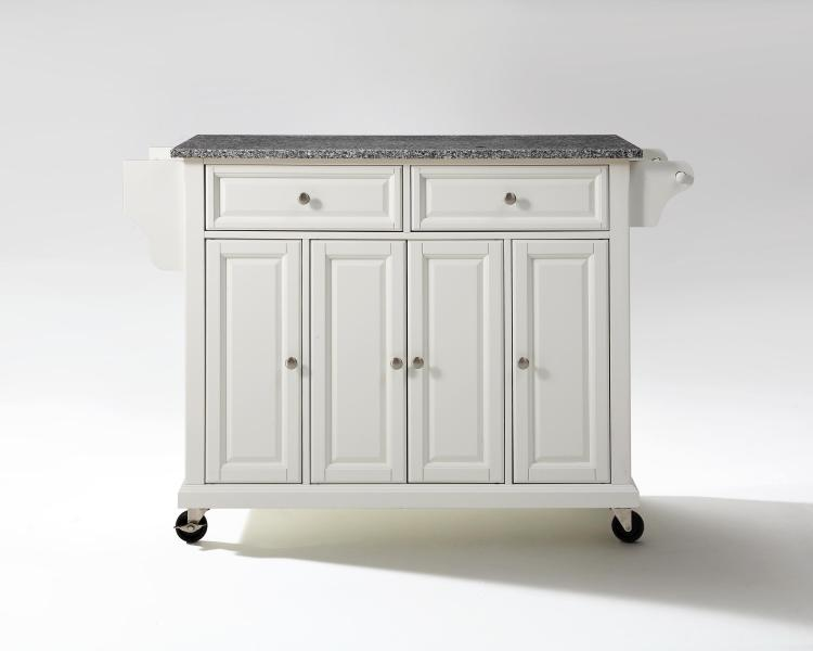Crosley Full Size Granite Top Kitchen Cart
