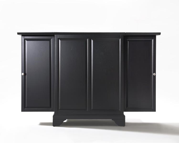 Crosley Lafayette Expandable Bar Cabinet [Item # KF40001BBK]