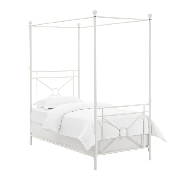 Crosley Montgomery Canopy Bed [Item # KF713002WH]