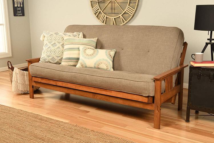 Kodiak Furniture Monterey Frame/Barbados Finsish/Linen Stone Mattress