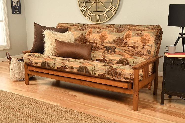 Kodiak Furniture Monterey Frame/Barbados Finsish/Suede Gray Mattress