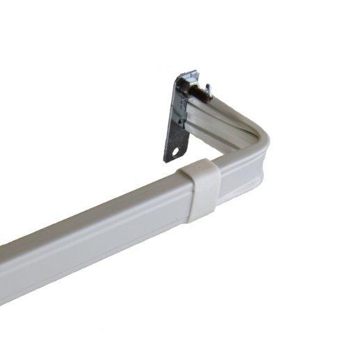 Lockseam 2 inch Clearance Curtain Rod 48-84 inch