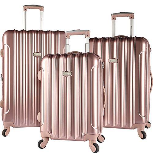 Travelers Club Luggage Kensie 3 Piece 4-Wheel Luggage Set