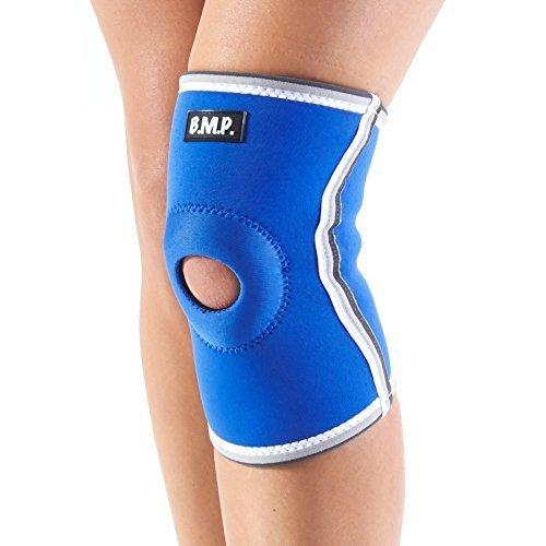 Black Mountain Products Neoprene Knee Brace / Knee Compression Sleeve. Blue Medium
