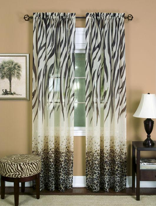 Kenya Window Curtain Panel