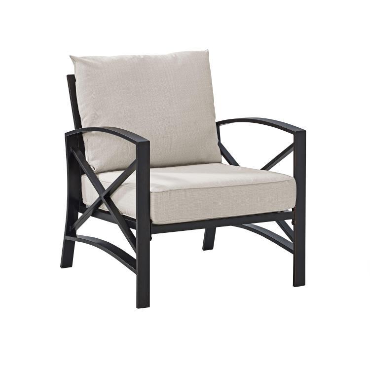 Crosley Kaplan Arm Chair [Item # KO60007BZ-OL]