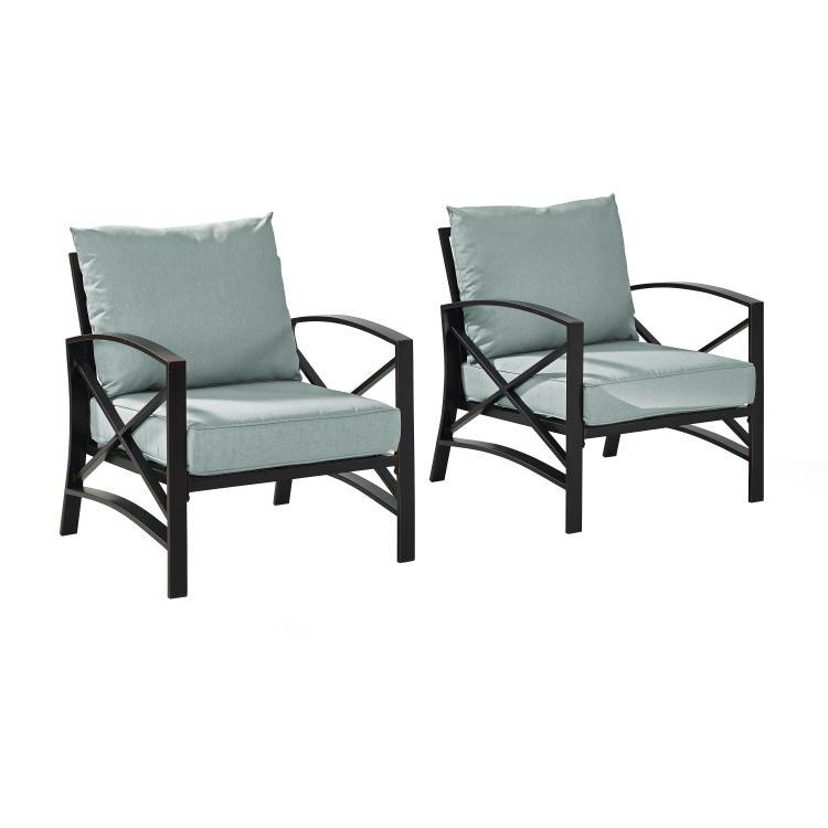 Crosley Kaplan 2 -Piece Outdoor Seating Set