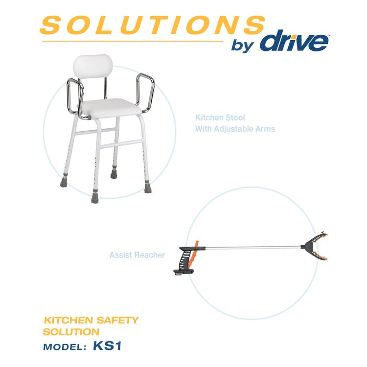 Kitchen Safety Solution Kitchen Stool [Item # KS1]