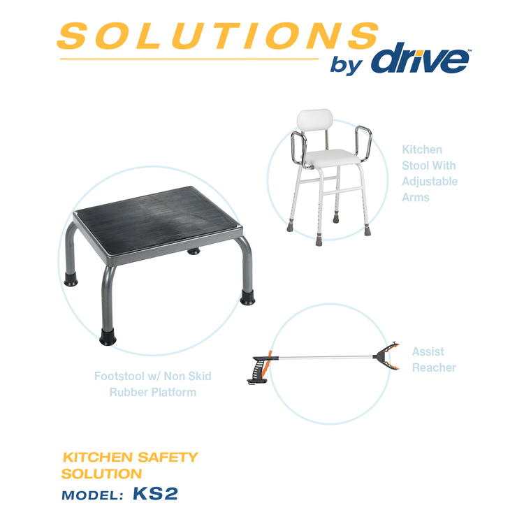 Kitchen Safety Solution Foot Stool [Item # KS2]