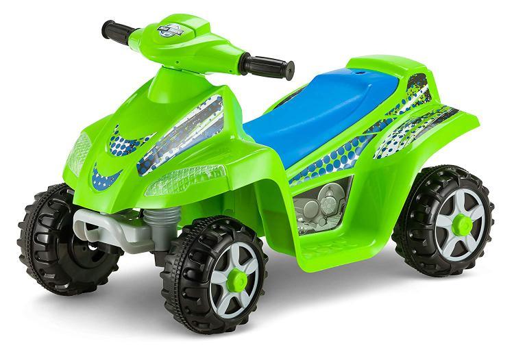 KidTrax Moto Trax 6V Toddler Quad Green Bicycle