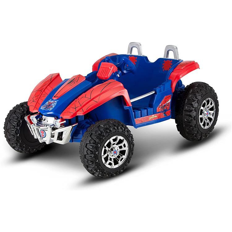 KidTrax Marvel Spider-Man Dune Buggy 12-Volt Ride-On Toy