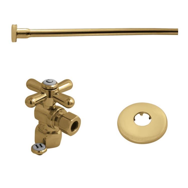 Kingston Brass Trimscape KTK102P Toilet Supply Kits Combo, 1/2