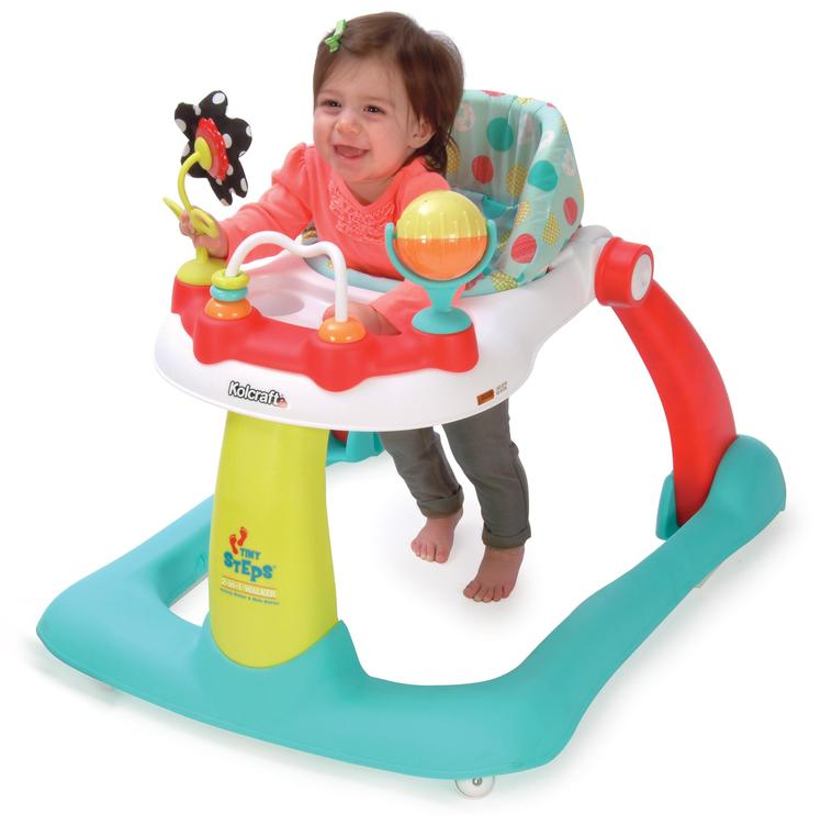Kolcraft Tiny Steps Activity Toddler & Baby Walker