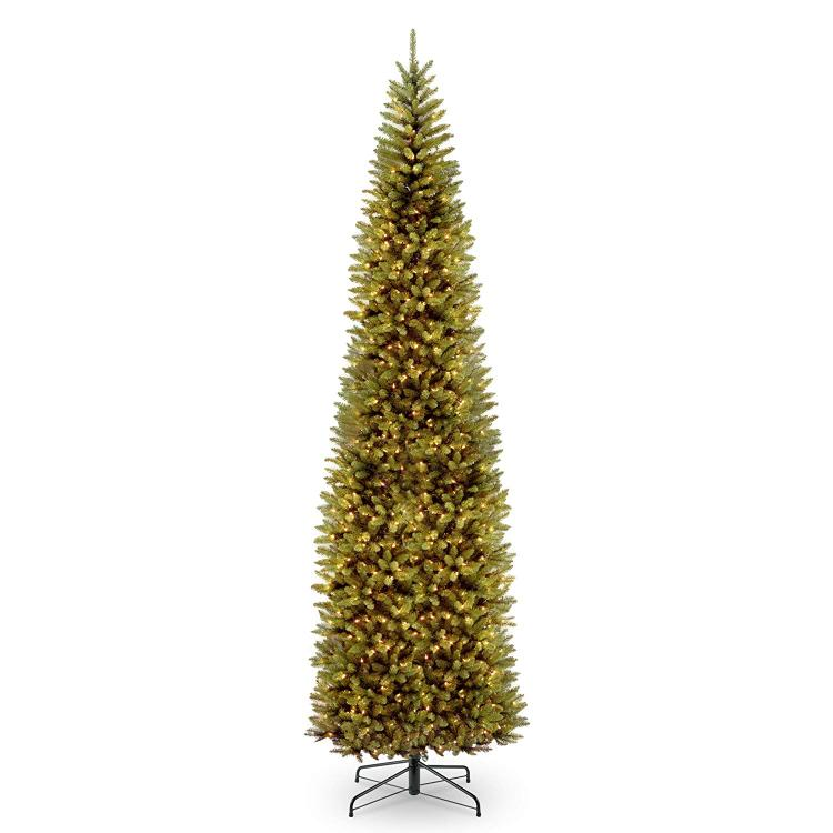 National Tree Kingswood Fir Pencil Tree with Light [Item # KW7-300-120]