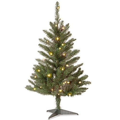 National Tree Kingswood Fir Tree with Clear Lights