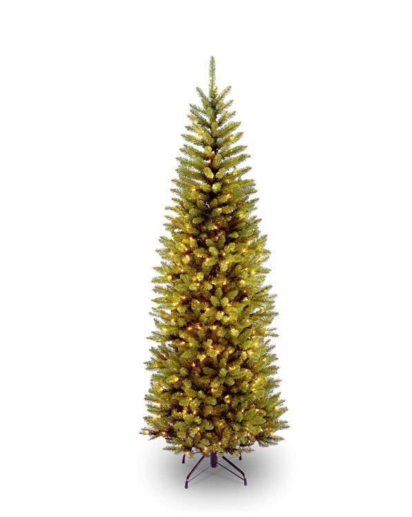 National Tree Kingswood Fir Pencil Tree with Light [Item # KW7-300-65]