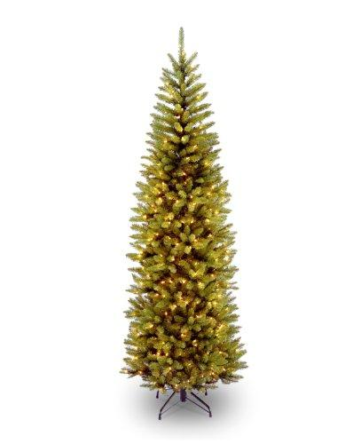 National Tree Kingswood Fir Pencil Tree with Light