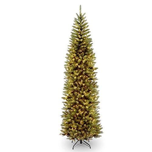 National Tree Kingswood Fir Pencil Tree with Light [Item # KW7-300-90]