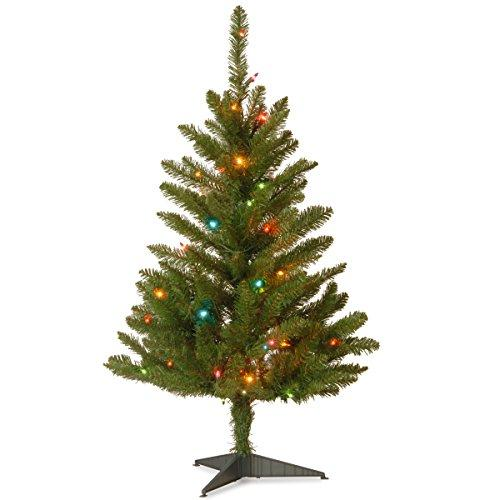 National Tree Kingswood Fir Tree with Multicolor Lights