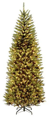 National Tree PowerConnect Kingswood Fir Slim Tree with Dual Color LED Lights