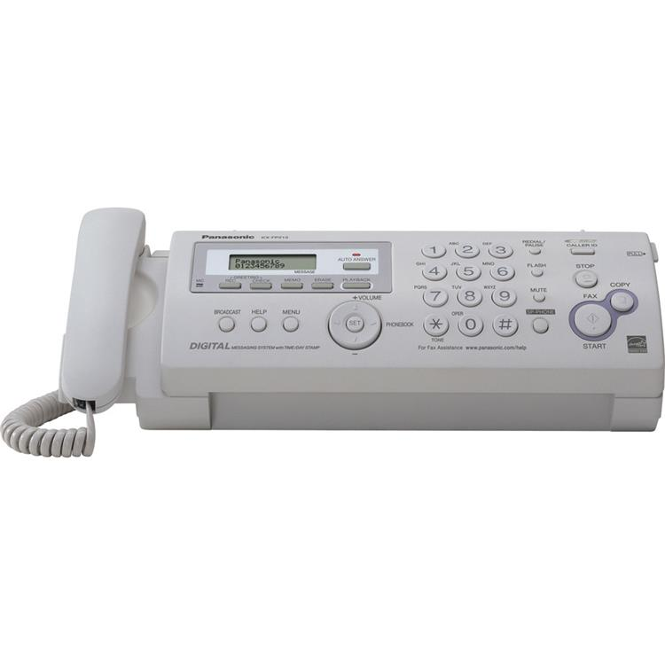 Panasonic Compact Plain Paper Fax/Copier with Answering System [Item # KX-FP215]