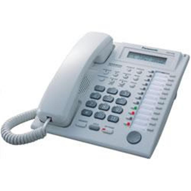 Speakerphone W/ LCD WHITE