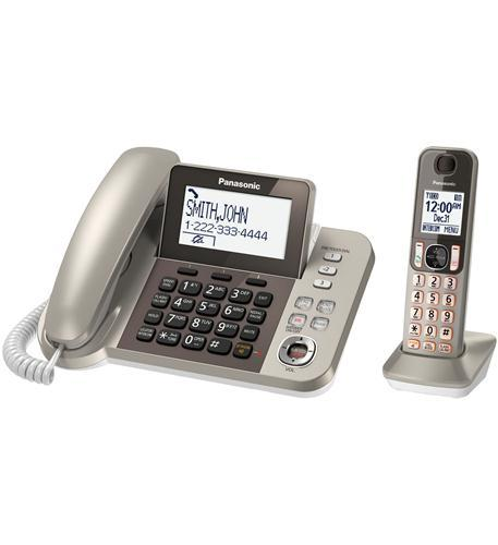 Dect 6.0+ Corded/Cordless- Itad- Bk