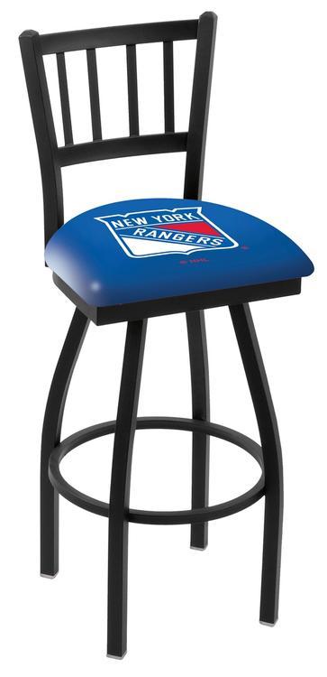 New York Rangers Bar Stool