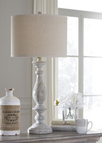 Bernadate Poly Table Lamp