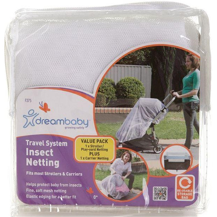 Travel System Insect netting for Strollers and Play Yards