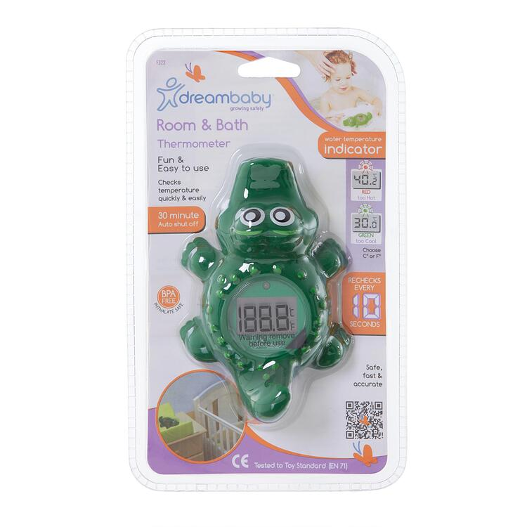 Room & Bath Thermometer - Croc