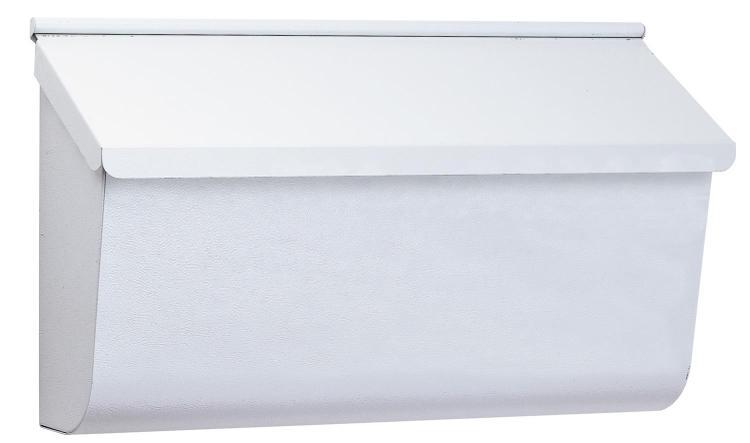 L4009Ww0 Mailbox Wall Mt Horz