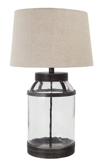 Shanika Glass Table Lamp
