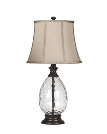 Olivia Glass Table Lamp