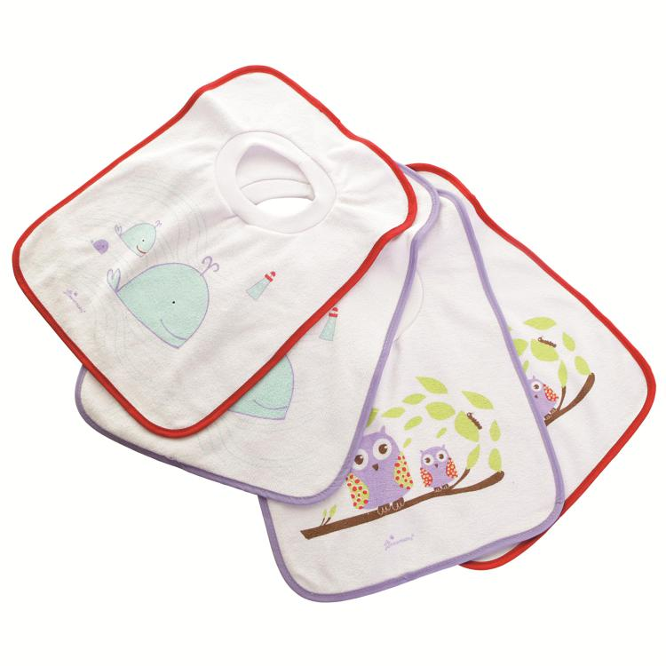 Pullover Bibs - 4 Pack