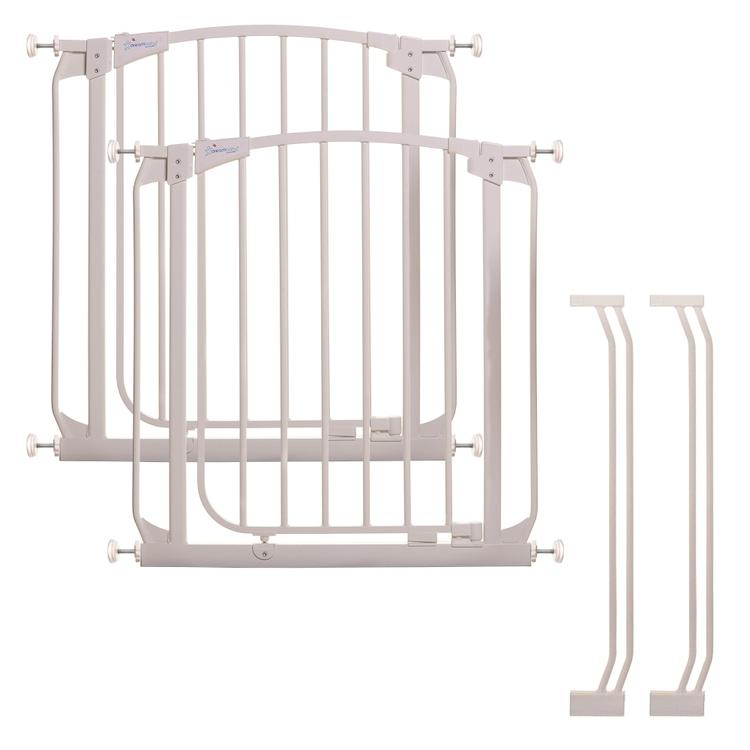 Dreambaby Chelsea Auto Close Stay Open Gate With 2 Gates And 2 X 3.5