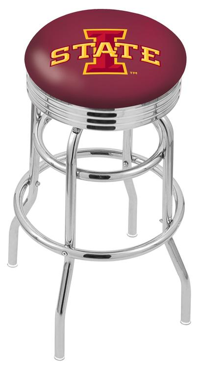 Iowa State Bar Stool